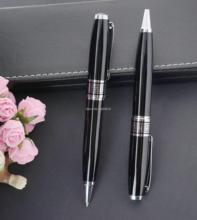 Black Metal Ballpoint pen Ball Point Business Canetas for Writing Gift Pen  6841