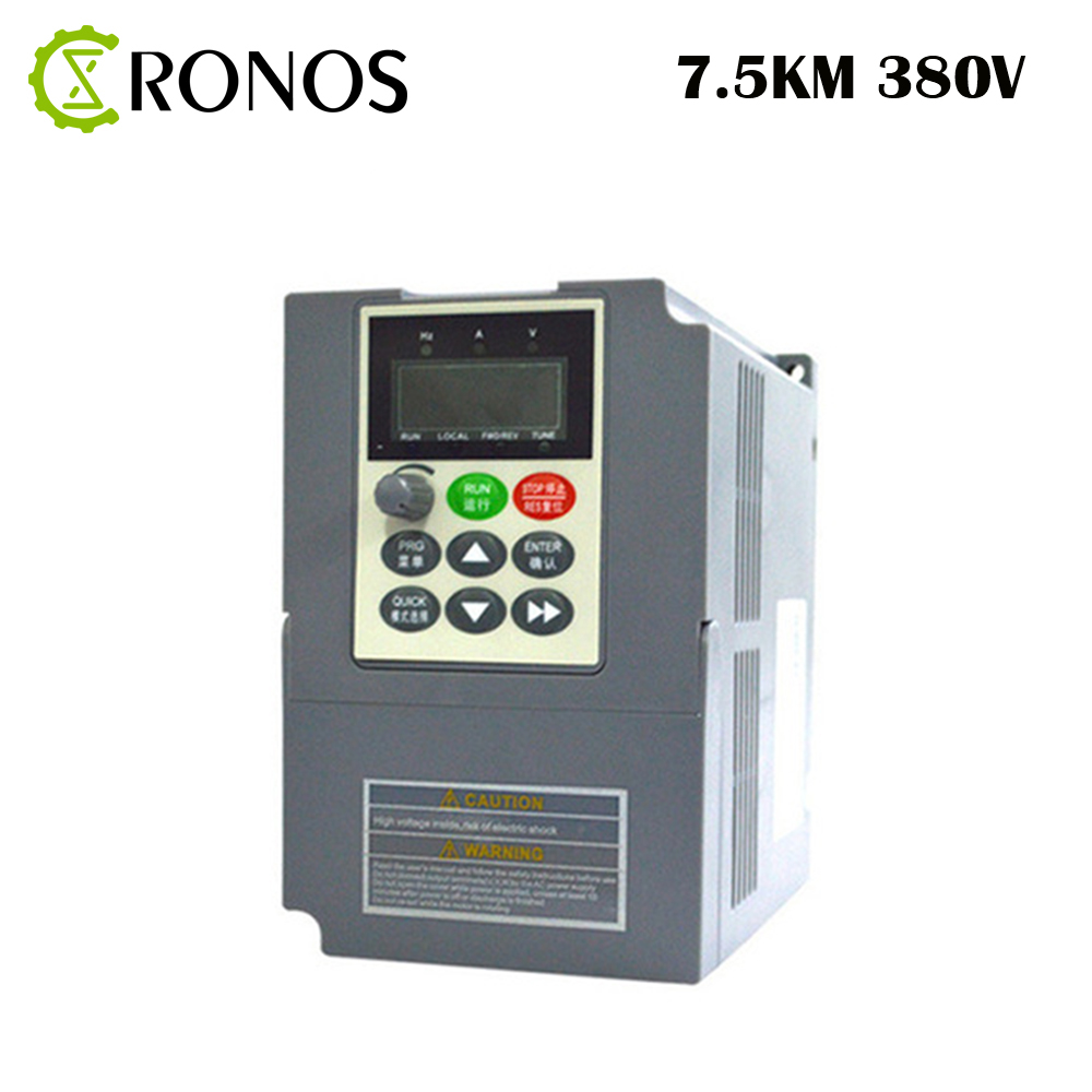 цена на 380V 7.5kw 17A AC Variable Speed Drive/ Frequency Inverter/VFD/Ac Drive/Frequency Converter