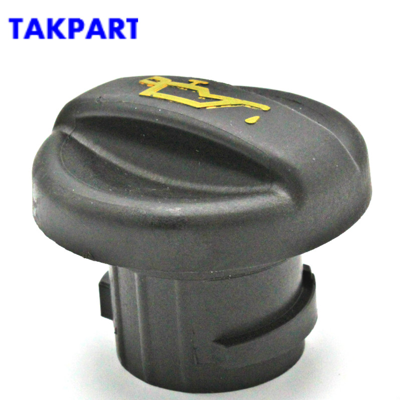 TAKPART Engine Oil Filler Cap Replacement Black