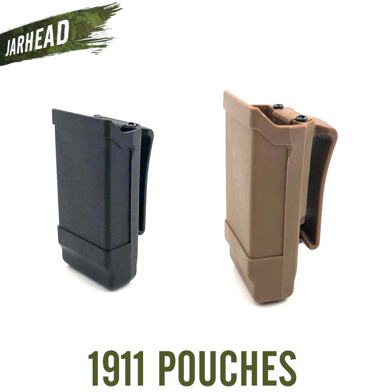 1911 Single Magazine Pouches Case Belt Clip Holder Duty Belt Quick Draw Holster Mag Box Hunting Accessories For 1911 image