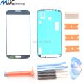 Touch Screen Outer Glass for Samsung Galaxy S4 i9500 i9505 i337 Front Glass lens Screen Replacement Repair Kit+UV Glue+Adhesive