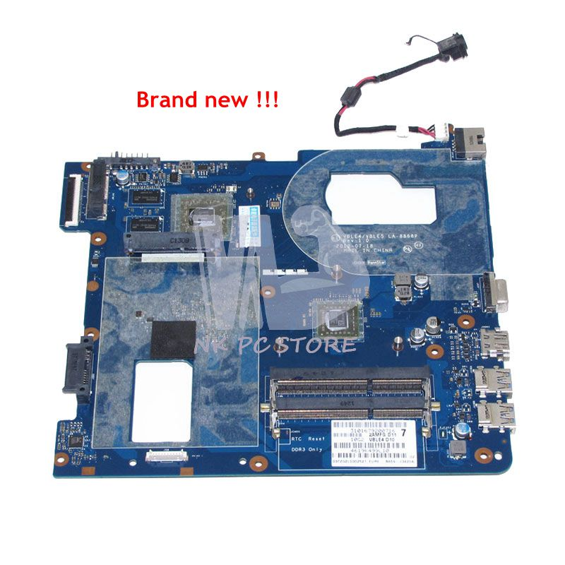 NOKOTION NEW BA59-03420A LA-8868P Main Board For Samsung 355E NP355E5C Notebook Motherboard DDR3 Discrete graphics nokotion laptop motherboard for dell vostro 3500 cn 0w79x4 0w79x4 w79x4 main board hm57 ddr3 geforce gt310m discrete graphics