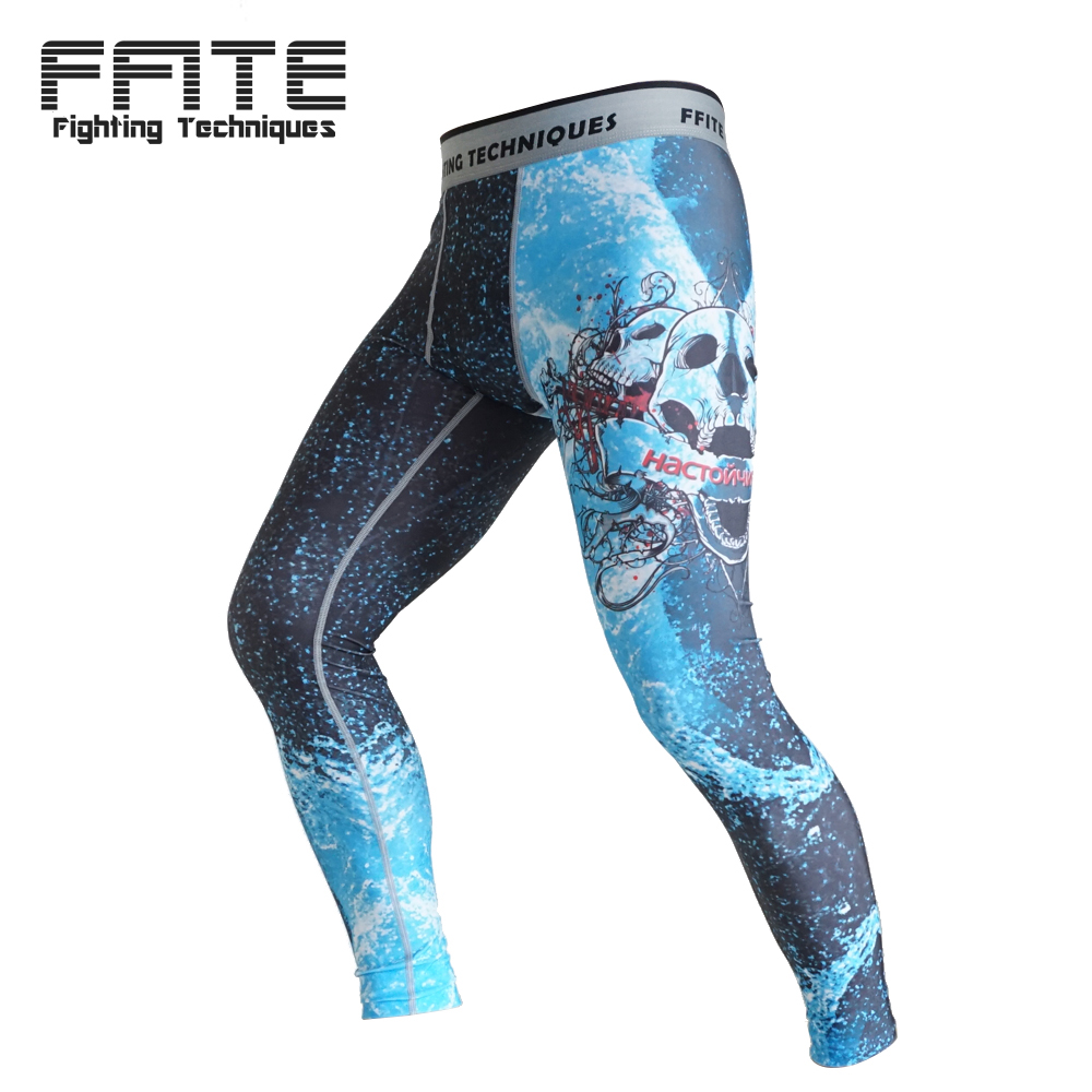 MMA Boxing Compression Pants Rashguard mma sports Fitness men Trousers muay thai Tight fight grappling camo breathable Joggers in Boxing Trunks from Sports Entertainment
