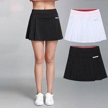 8fc315ba4 Mujer Tennis Skirt Plus size Casual Skort Badmintkn Shorts Girls Anti- exposure Fitness Workout Sports