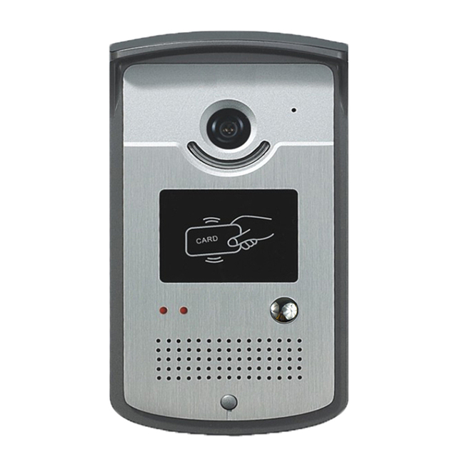 Free Shipping Video Door Phone Intercom Video Door Bell With CMOS Night Vision Camera Unit For Door Access Control System