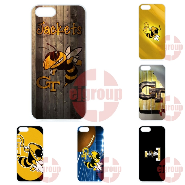 timeless design ff10f 5b479 US $4.96 |Cell Case Georgia Tech Yellow Jackets Logo For Samsung Galaxy J1  J2 J3 J5 J7 2016 Core 2 S Win Xcover Trend Duos Grand on Aliexpress.com |  ...