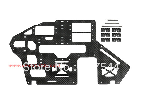 Tarot 500 Spare Parts TL50200-02 Main Frame Set Tarot 500 parts free shipping with tracking platinor platinor 50200 221