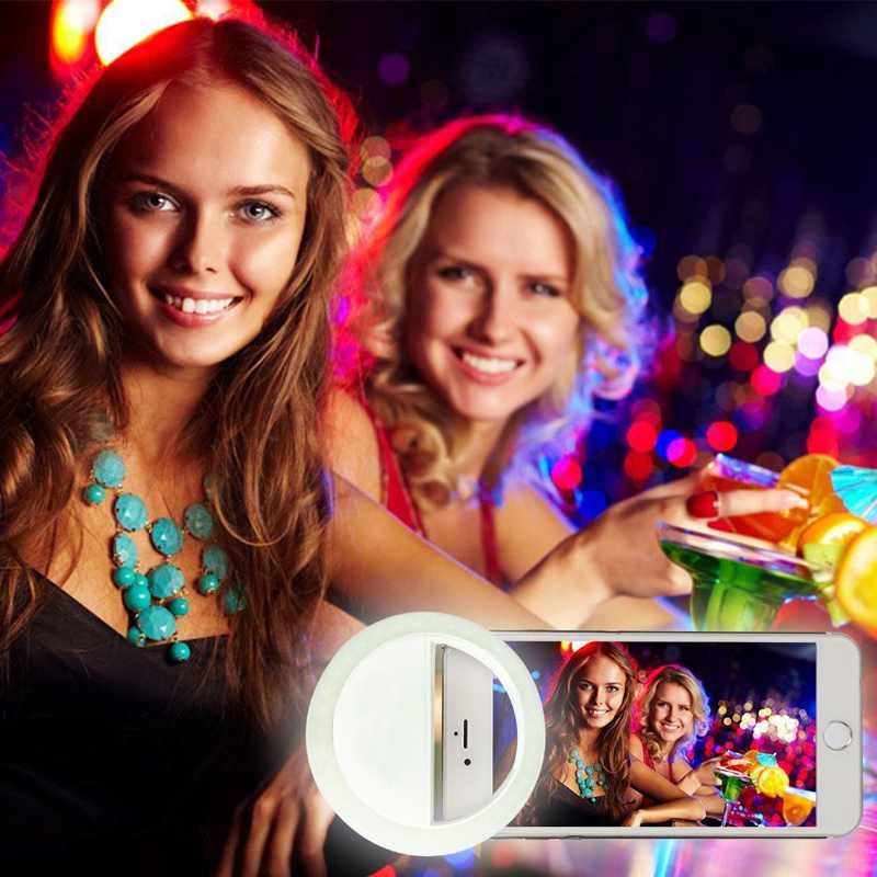 Charm Eyes ұялы телефоны Selfie Ring жарық Up Flash - Камера және фотосурет - фото 3