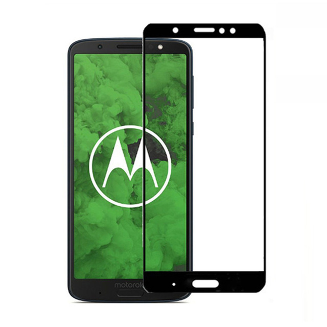 3D Tempered Glass For Motorola MOTO G6 Play Full Cover 9H Protective film Explosion-proof Screen Protector For MOTO G6 Play