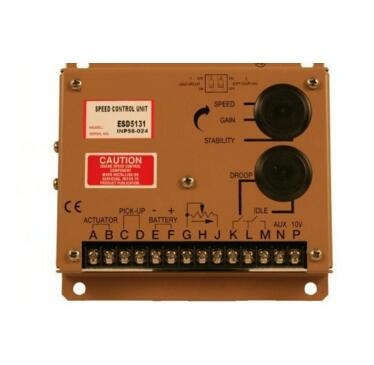 Generators electronic speed control board ESD5131, diesel generator speed controller optimal capacity planning of distributed generators