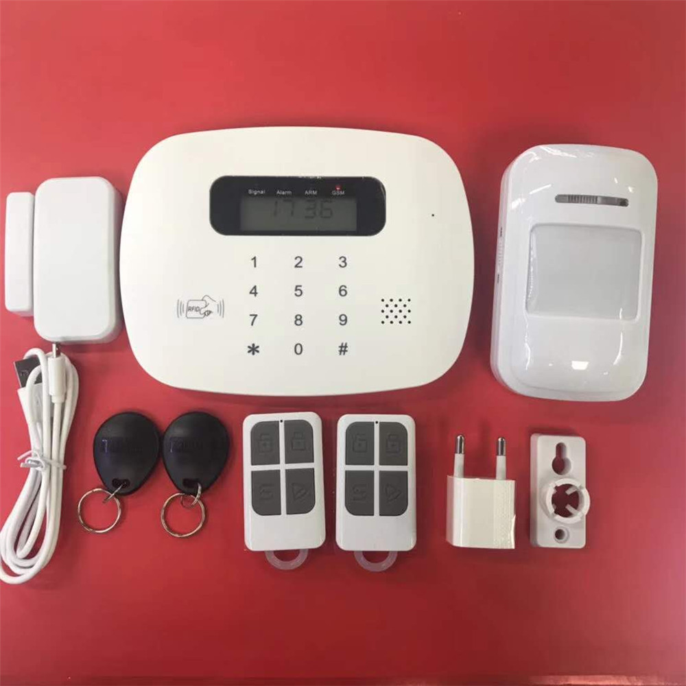 RFID Touch Keypad GSM Alarm System APP Remote Control ...