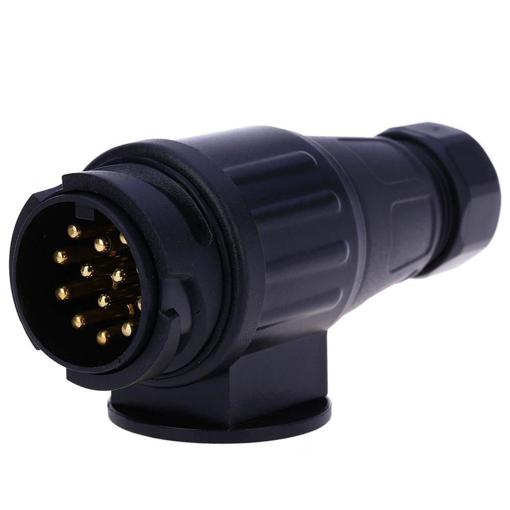 European Standard Round Hole Trailer Plug Truck Cable