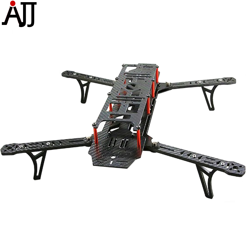 AlienCopter Bee 470mm Full Carbon Fiber Frame Kit W Clean and Dirty System AC BEE DIY