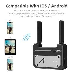 Image 4 - Accsoon CineEye Wireless 5G 1080P Mini HDMI Übertragung Gerät Video Sender Für IOS iPhone für iPad Andriod Telefon