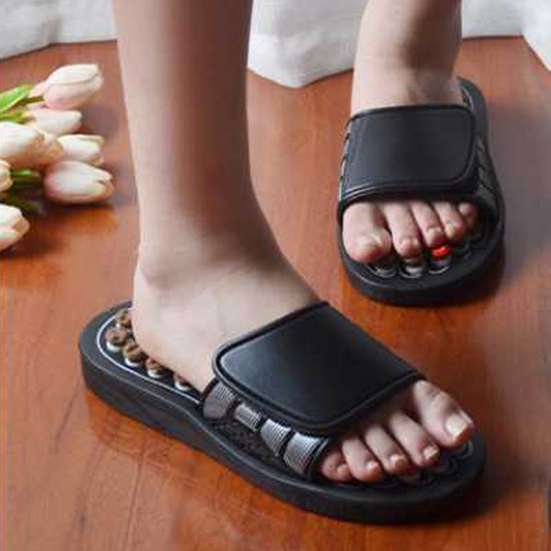 Image 5 - Feet Massage Slippers Acupuncture Therapy Massager Shoes Foot Acupoint spine shiatsu Reflexology Feet Care Massageador Sandal-in Massage & Relaxation from Beauty & Health