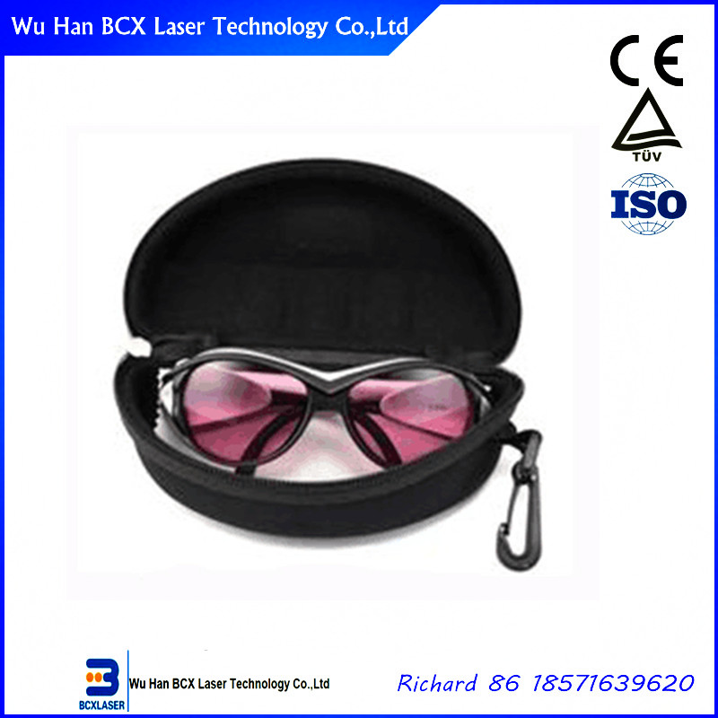 Hot sale 808nm, 980nm, 1064nm, 1320nm Protective laser safety glasses for Diode, YAG laser handpiece probe 1064 1320 532nm for beauty machine