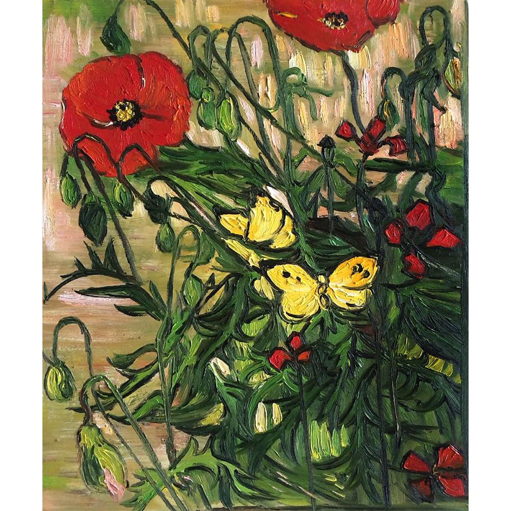 High Quality Vincent Van Gogh Paintings For Sale Poppies And