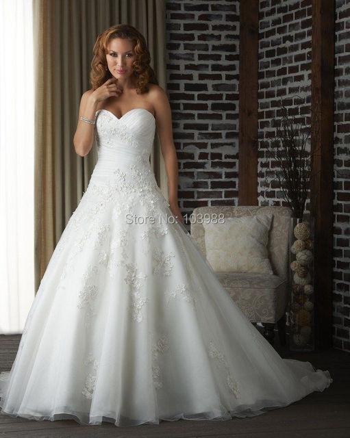 2016 graceful encaje brillo elegante agraciado vestido de novia