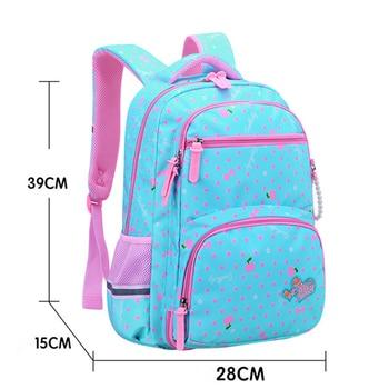 2020 New Orthopedics Schoolbags Waterproof School Backpack For Kids Children 2