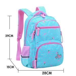 Image 3 - 2021 New Orthopaedics Schoolbags Waterproof School Backpacks For Teenagers Girls Kids Backpack Children School Bags Mochila