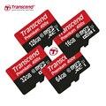 Transcend sellado real 128 gb 64 gb 32 gb 16 gb microsd microsdxc micro SD SDHC SDXC Tarjeta 60 MB/S clase 10 UHS-1 tarjeta de Memoria TF tarjeta