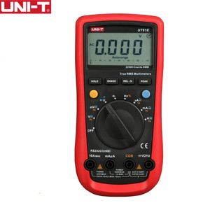 Image 1 - UNI T UT61E High Reliability Digital Multimeter Meter PC Connect AC DC Voltage Relative Mode 22000 Counts Data Hold