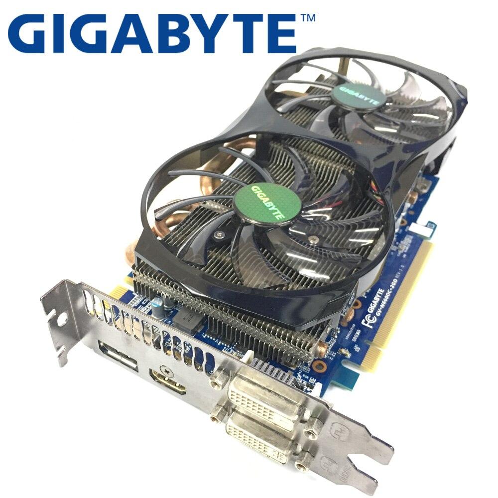 Видеокарта GIGABYTE GTX660 2 Гб 192 бит GDDR5, графические карты для VIDIA Geforce GTX 660 б/у VGA-карты, мощнее чем GTX 750 Ti-1