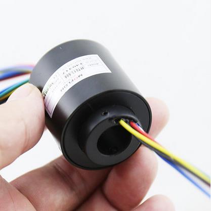 Moflon контактными кольцами через отверстия скольжения Размер кольца отверстия 12.7 мм OD33mm 6 x 5A Электрический кольцо скольжения MT1233
