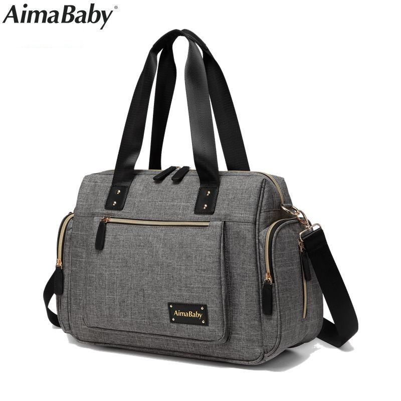 Luiertas Baby Stroller Nappy Diaper Mummy Maternity Tote Bag Organizer Mom Handbag bags bolsa maternidade bolso mochila maternal