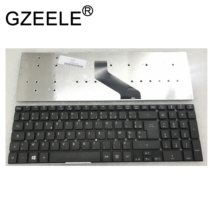 GZEELE FR AZERTY Keyboard For Acer Aspire AS5830T MP-10K36F0-5281W MP-10K36F0-6981W PK1301N1A14 NEUF 0KN0-7N1FR12 BLACK