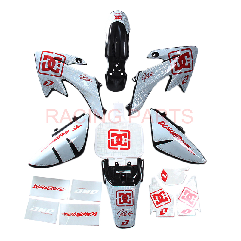 H2cnc Graphics and background Label Sticker kits crf50f 2012 crf50 2004, 2006, 2007, 2008, 2010, 2011 CRF 50 50