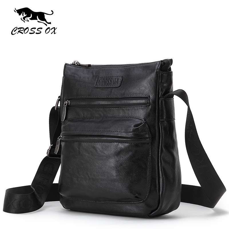 CROSS OX 2017 New Arrival Men's Shoulder Bag Casual Travel Bags For Men iPad Bags Portfolio Messenger Bag For Business SL388M