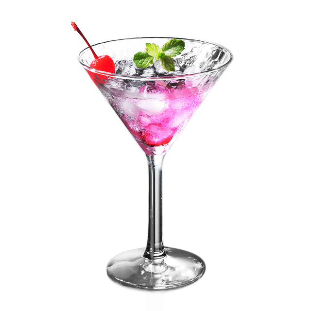 New High Grade Luxury Household Bar Cocktail Wine Glass Drill Crystal  Bartender Cup Saloon Jelly
