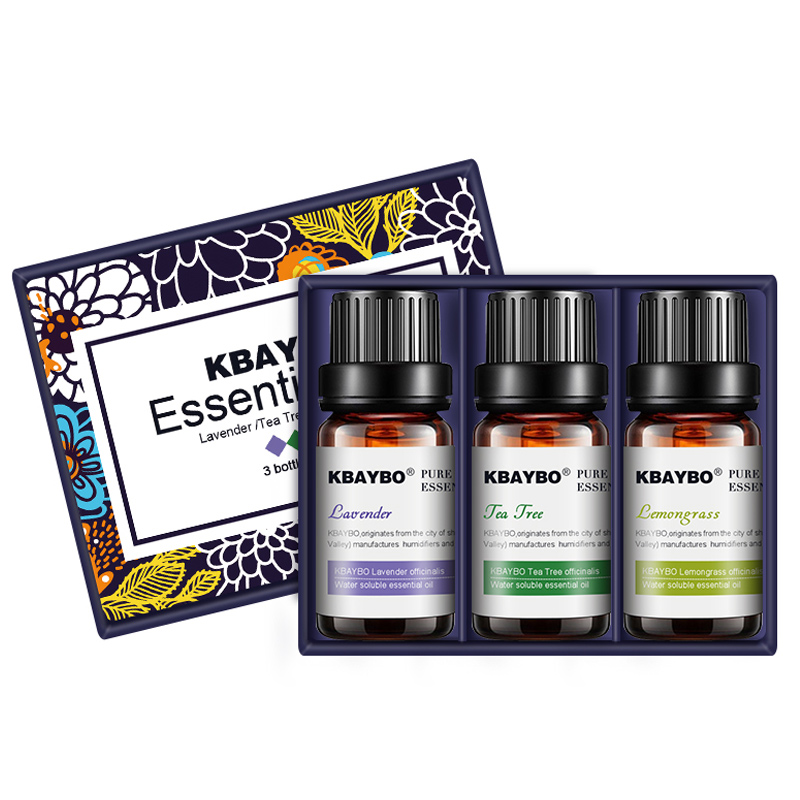 Water-soluble Oil for Aromatherapy Humidifier 3 Kinds Fragrance of Lavender, Tea Tree,Lemongrass Essential Oil for Diffuser essential oils with aromatic aromatherapy oil 6 kinds fragrance of lavender tea tree lemongrass essential oil for diffuser