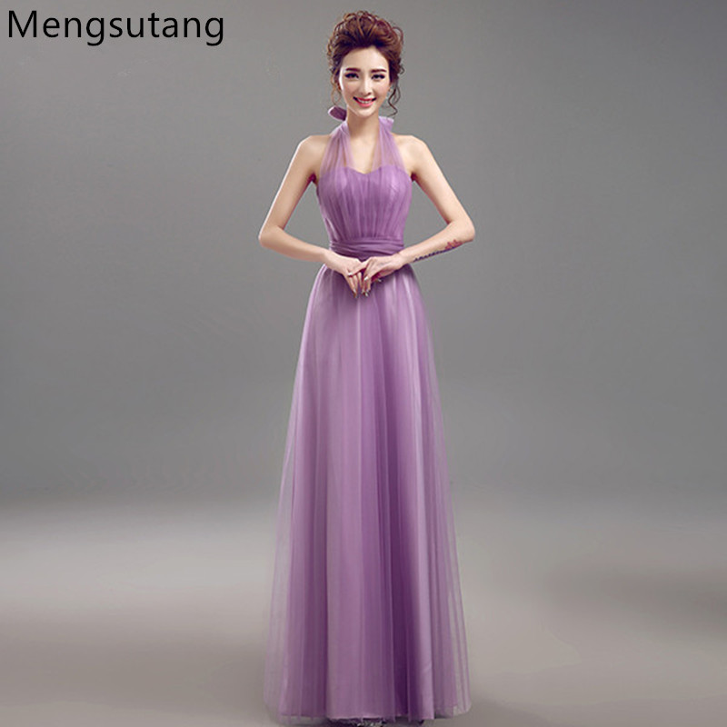Robe de soiree 2019 new Vestidos De Novia multiway   dress   Purple Lavender   Bridesmaid     Dresses   Beautiful Vintage Vestido De Festa