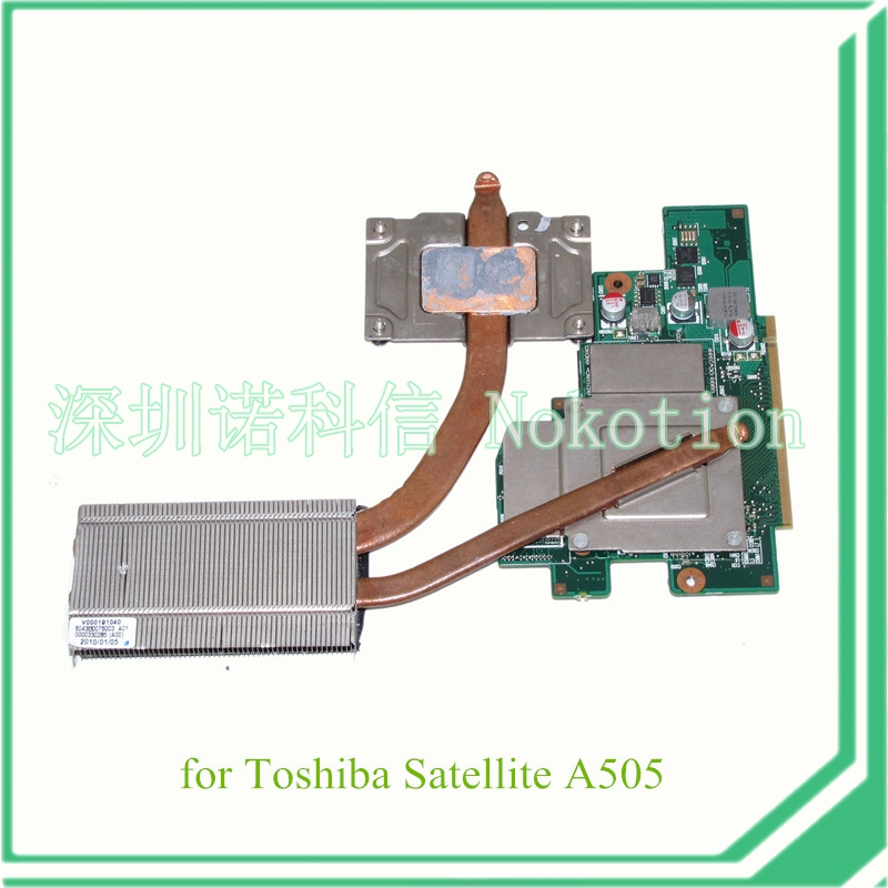 V000191150 For Toshiba A505 laptop Graphics card GPU board VGA Card CS10MG-6050A2253801-VGA-A02 N11M-GE1-B-A3 GT310M 512MB