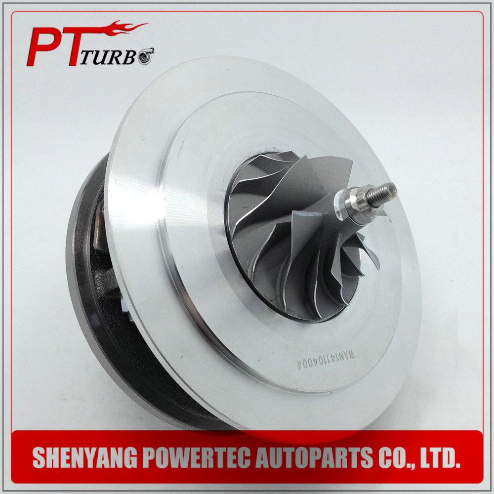 Turbocharger GT2256V core assembly for BMW 330 D / 330 XD E46 / BMW X5 3.0 D E53 M57 D30 184HP 1999-2003 - Cartridge CHRA 704361 gt2256v turbo charger rebuild kits for bmw 330d 330xd e46 x5 3 0d e53 m57d30 184hp cartridge turbine chra 704361 11652249950