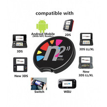 Ntag215 N2 Elite จำลอง NFC Reader All in สำหรับ AMIIBO ใหม่ 3DS XL/เกมสวิทช์ NS NFC เหรียญ zelda Super Mario Super Smash