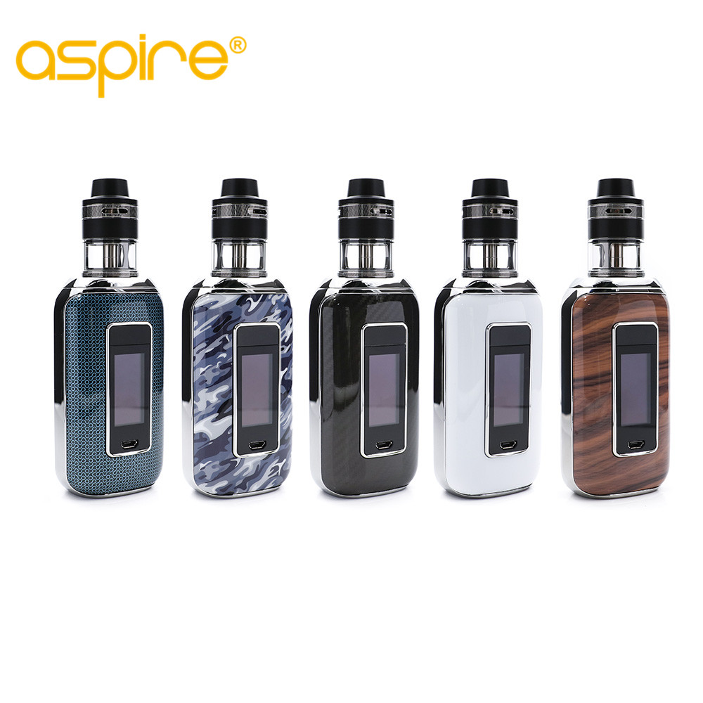 original Aspire Skystar Revvo Starter Kit Touch Screen Skystar MOD 210W With Revvo Tank Electronic cigarette Kit
