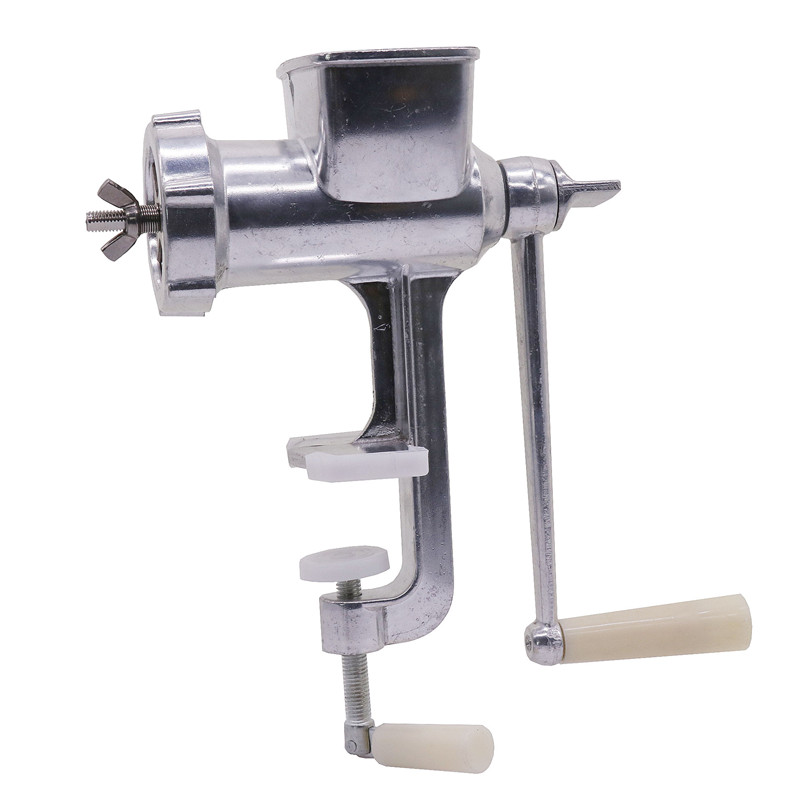 Pet birds Manual Feed Processing Machine 1 5 2 0 2 5 3mm Squeeze Mouth Stainless