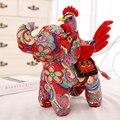 35-55 см Симпатичные Китайский зодиак Курица плюшевые Игрушки Слон Петух ткань кукла плюша детские новогодний подарок 2017 Новый Стиль