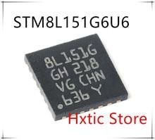 10PCS/lot STM8L151G6U6 STM8L151 8L151G QFN-28 ic