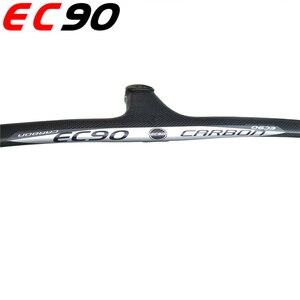 Image 5 - EC90 Manillar de bicicleta de carretera de fibra de carbono, accesorio para coche deportivo de una pieza, con mango de carbono original y genuino, 2019