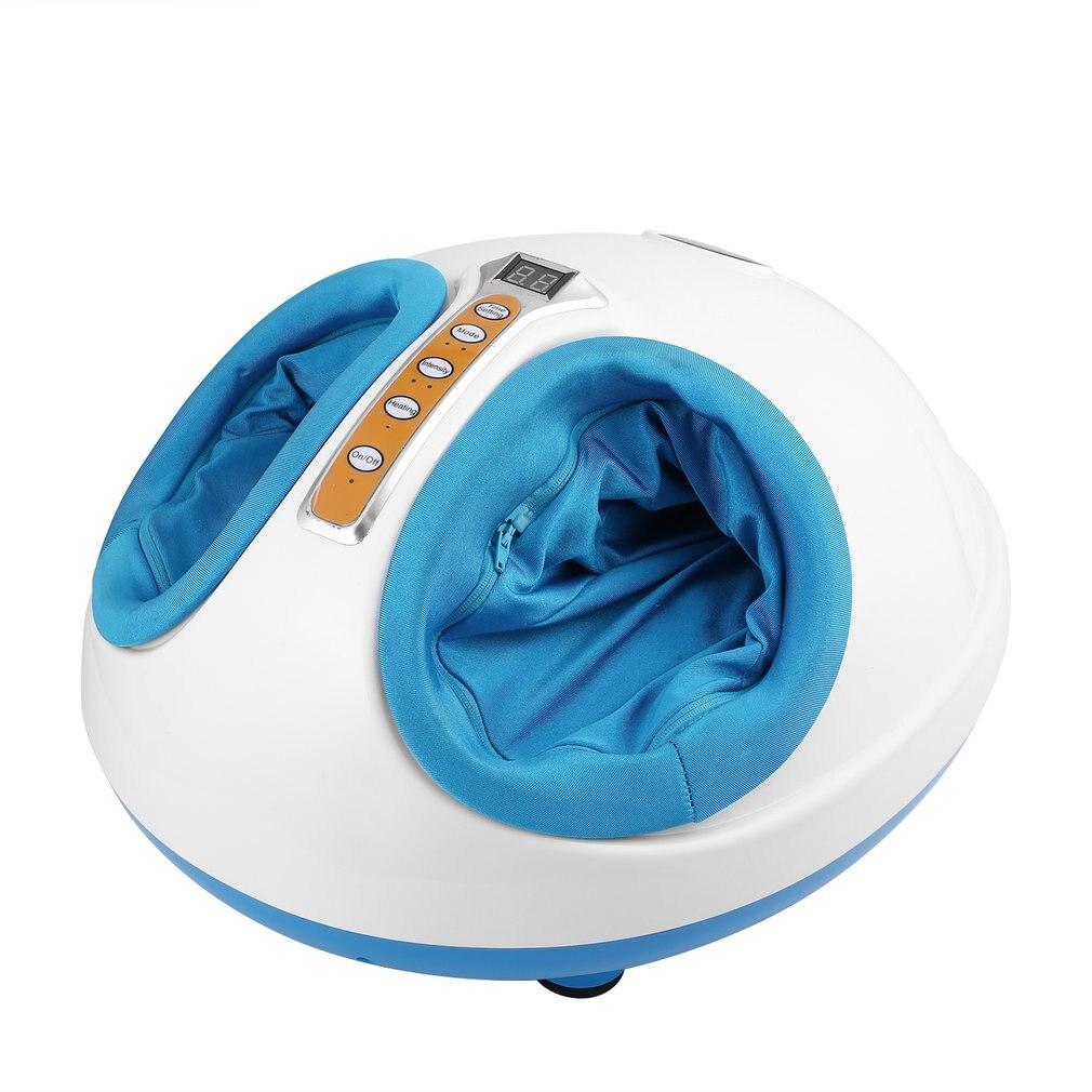 220 V électrique masseur de pieds Antistress chauffage thérapie Shiatsu pétrissage vibrateur pied Massage Machine appareil de soins des pieds