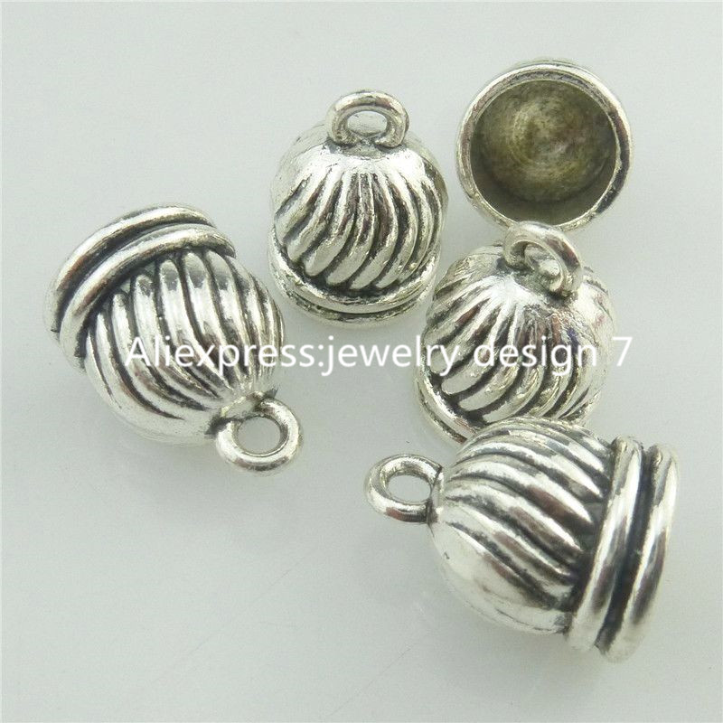 Free shipping pcs silver vintage mm cap jewelry