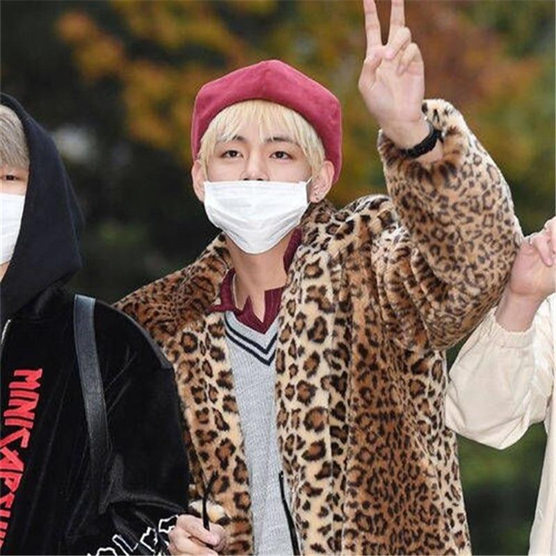 BTS SUGA V Fashion K POP grandad Buds cap Hats adjustable leather cap100% cotton  hot selling bts suga fashion k pop xxxx embroidery hats adjustable baseball cap