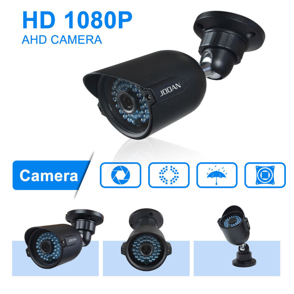 JOOAN 404DRA 1080P AHD Security Camera 42 IR-Leds 3.6mm Lens Waterproof Bullet CCTV Video Surveillance Camera