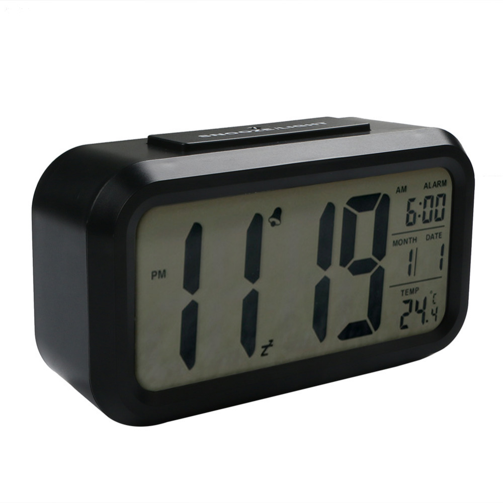 AAA Electronic Intelligent Induction Smart Large Screen LED Lazy Mute Low Light Sensor Digital Alarm Clock Thermometer Date-in Table L&s from Lights ...  sc 1 st  AliExpress.com & AAA Electronic Intelligent Induction Smart Large Screen LED Lazy ... azcodes.com