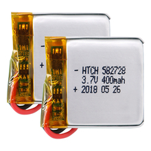 3.7V 400mAh 582728 Rechargeable li-Polymer Li-ion Battery For Q50 G700S K92 G36 Y3 Childre