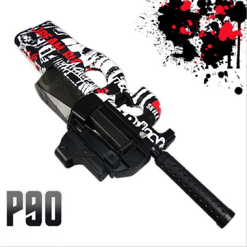 Live CS P90 Electric Toy Gun Orbeez Paintball Assault Snipe Weapon Soft Water Bullet Pistol with bullets Toy Boy Weapons toy